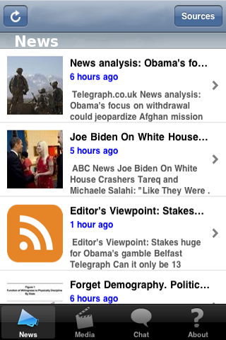 Social Media News screenshot #1