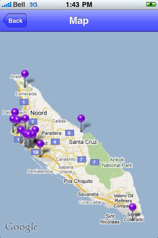 Aruba Sights screenshot #1