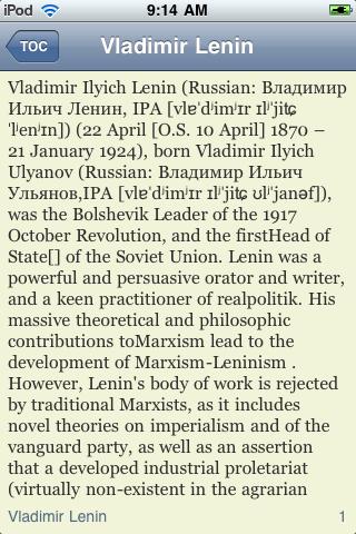 Vladimir Lenin - Just the Facts screenshot #3