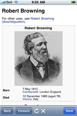 Robert Browning Quotes screenshot #1