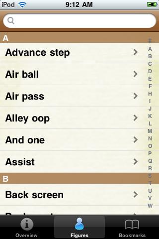 Basketball Terminology screenshot #3