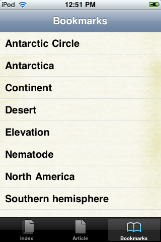 Antarctica Study Guide screenshot #3