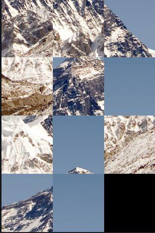 SlidePuzzle - Mount Everest screenshot #1