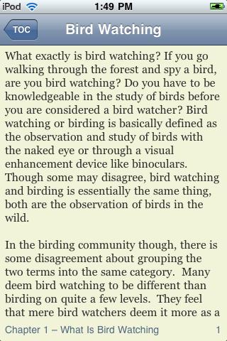 The Beginner's Guide to Bird Watching screenshot #2