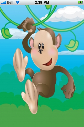 Funny Monkey Snow Globe screenshot #1