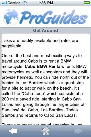ProGuides - Cabo San Lucas screenshot #3