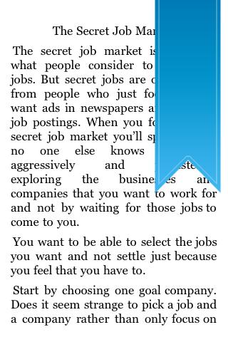 The Secret Job Market screenshot #5