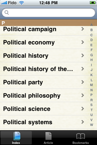 The Political Economy Study Guide screenshot #2