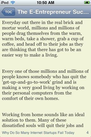 The E-Entrepreneur Success Mindset screenshot #3
