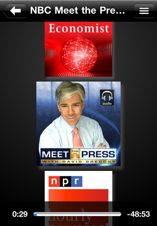 Podcasts - AudioPress Player screenshot #5