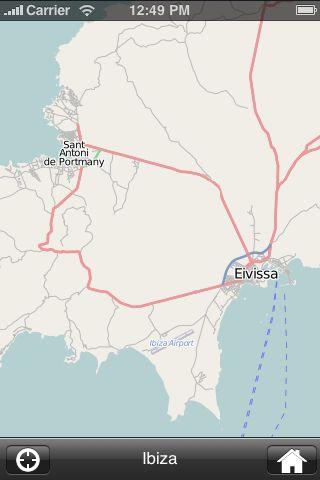 iMapsPro - Ibiza screenshot #2