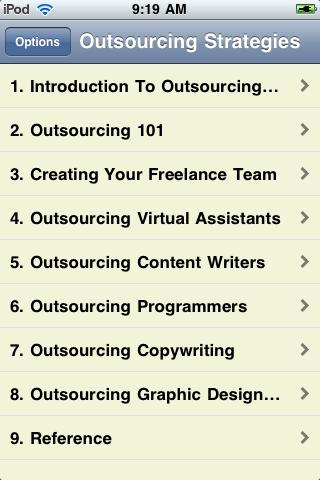 Outsourcing Strategies screenshot #2