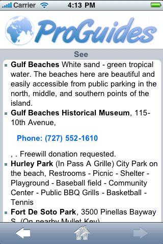 ProGuides - St. Pete Beach screenshot #3