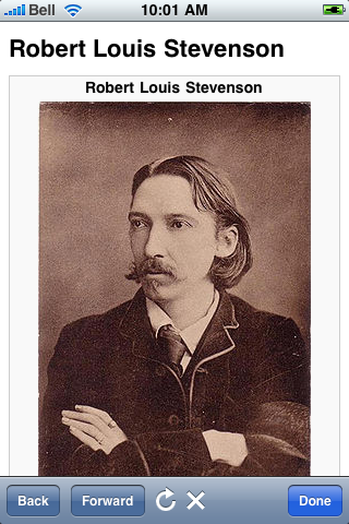 Robert Louis Stevenson Quotes screenshot #1