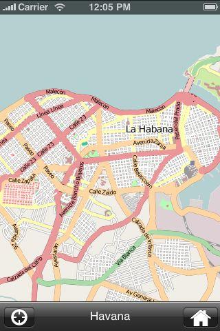 iMapsPro - Havana screenshot #1