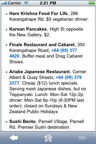 ProGuides - Auckland screenshot #2