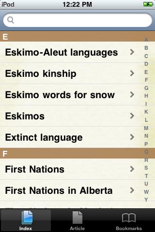 Eskimos Study Guide screenshot #2