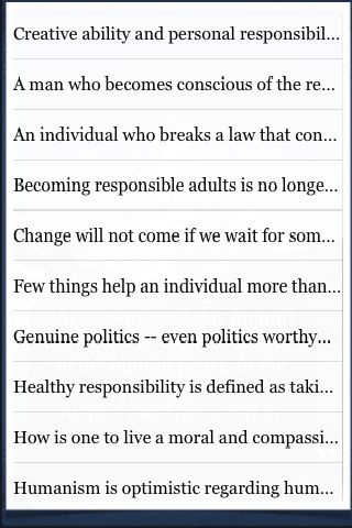 Responsibility Quotes screenshot #3