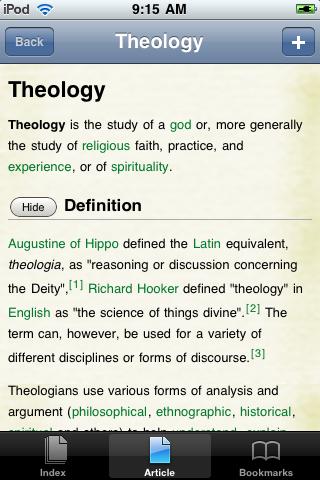 Theology Study Guide screenshot #1