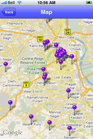 New Delhi, India Sights screenshot #1