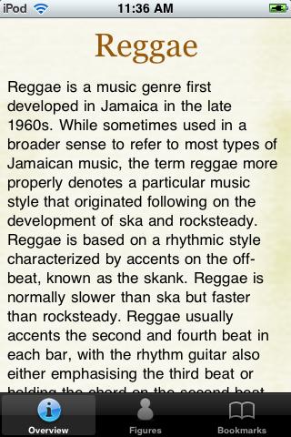 Reggae Stars Pocket Book screenshot #1