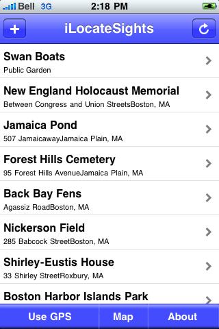 Boston Sights screenshot #2
