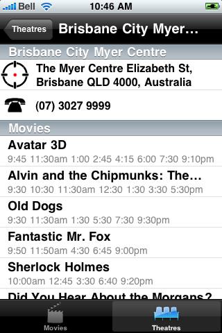 Brisbane, AU Movie Time screenshot #3