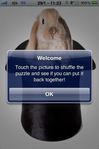 Magic Rabbit Slide Puzzle screenshot #3