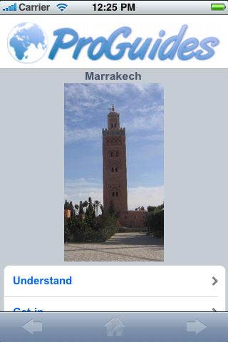 ProGuides - Marrakech screenshot #1