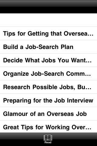 A Guide Book To Job Searching screenshot #3