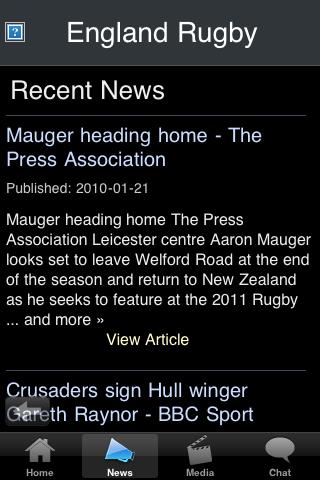 Rugby Fans - England screenshot #2