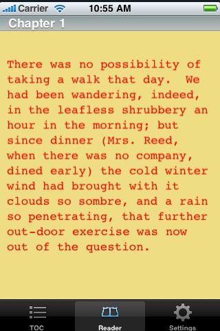 iReader - The Works of Edgar Allan Poe - Volume 2 screenshot #3