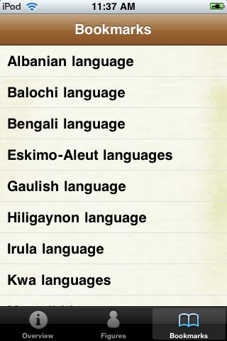 Languages of the World Pocket Book screenshot #4