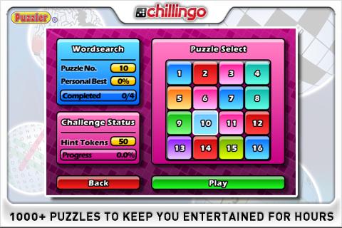 Puzzler World UK Lite screenshot #3