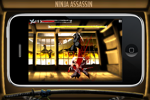 Ninja Assassin screenshot #1