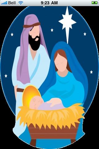 Nativity Scene Snow Globe screenshot #1