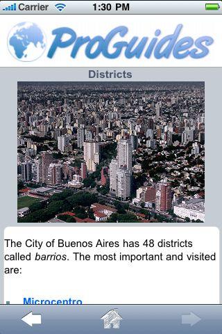 ProGuides - Buenos Aires screenshot #3