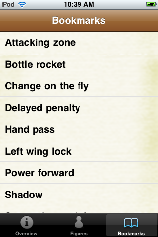 Hockey Pocket Book screenshot #5