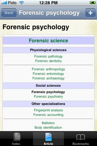 Forensic Psychology Study Guide screenshot #1