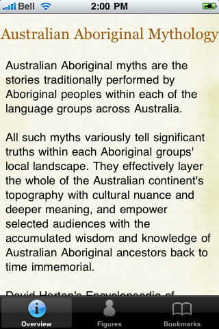 Australian Aborignal Mythology screenshot #5