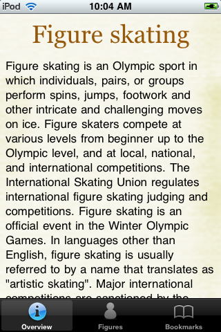Figure Skating Pocket Book screenshot #1