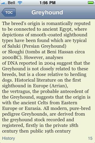 The Greyhound Book screenshot #2