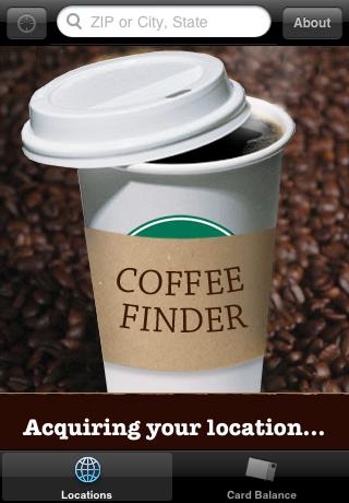 Coffee Finder screenshot 1