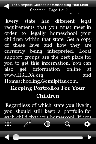 The Complete Guide to Homeschooling Your Children screenshot #1