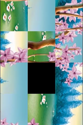 Spring Forest Slide Puzzle screenshot #2