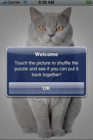 SlidePuzzle - Fluffy Cat screenshot #2