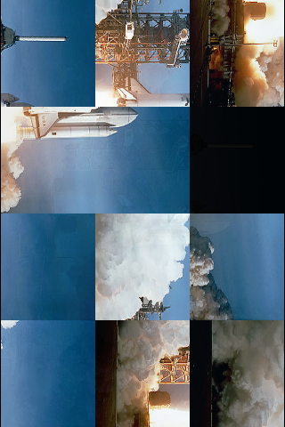 Space Shuttle Slide Puzzle screenshot #3