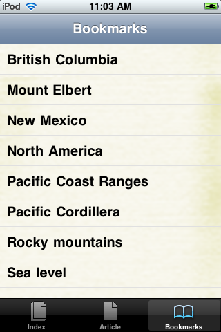 The Rocky Mountains Study Guide screenshot #3