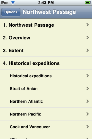 The Northwest Passage screenshot #1