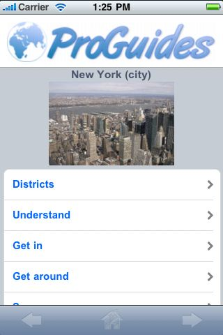 ProGuides - New York City screenshot #1